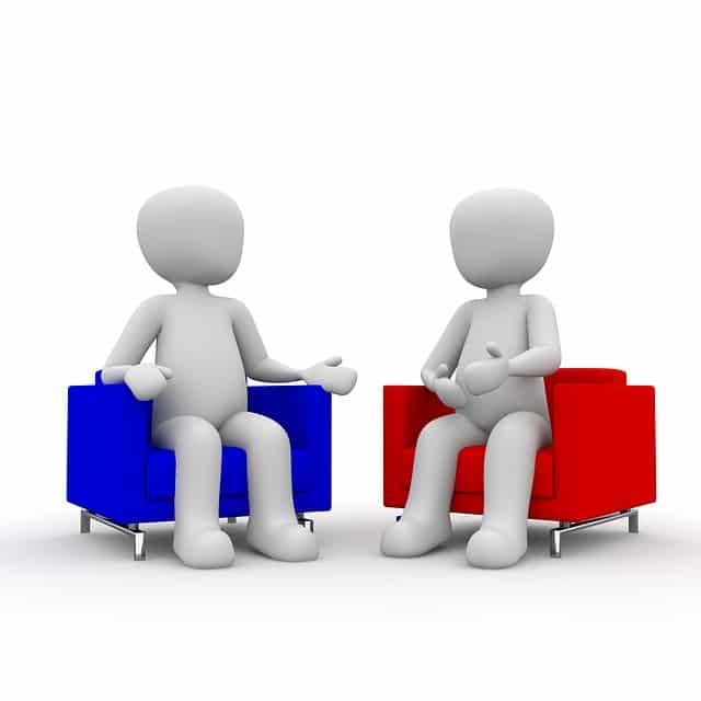 samtale leder og medarbejder